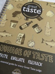 instruction manual on taste